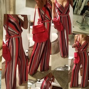 CHARTER HENRY Striped Jumpsuit BNWT